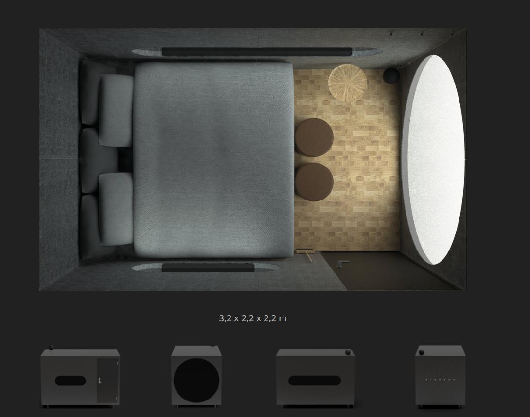 Birdbox - la cabaña minimalista para aventureros. 5