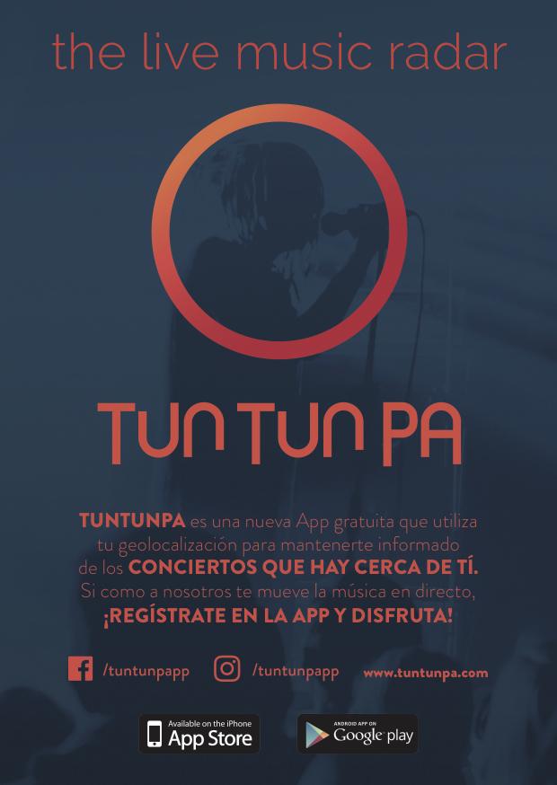 APP PARA CONCIERTOS: Tun Tun Pa