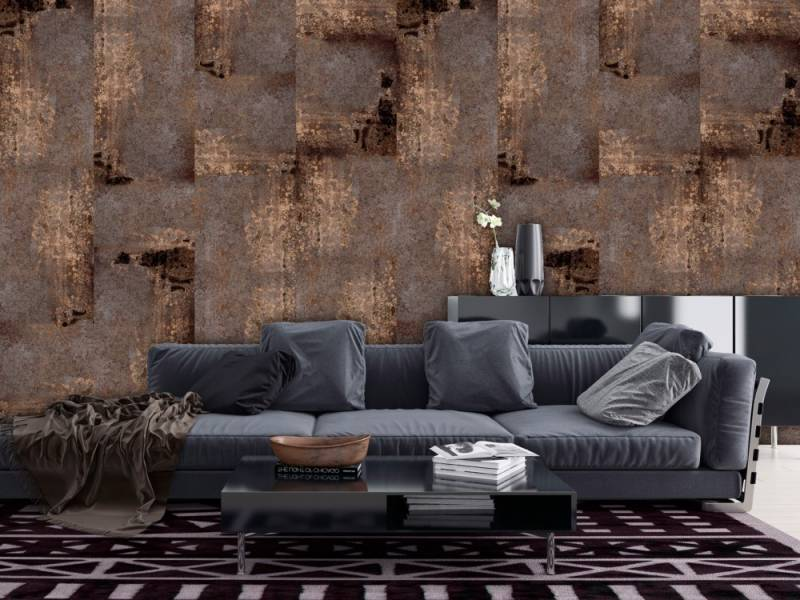 Un universo de texturas visuales en el papel pintado para decorar paredes 1