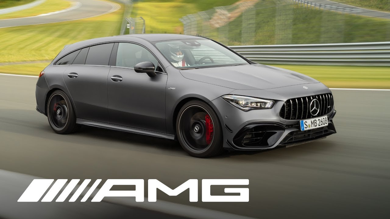 amg cla 45 s 4matic shooting bra - AMG - CLA 45 S 4MATIC + Shooting Brake