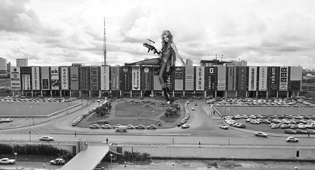 Un Proyecto de arte retro futurista transforma a Brasilia, en Instagram 1