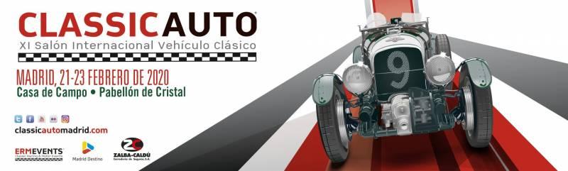 classi auto - ClassicAuto Madrid 2020 - 21,22 y 23 de febrero
