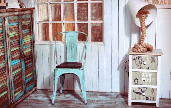 Decoración vintage aprovechando la madera