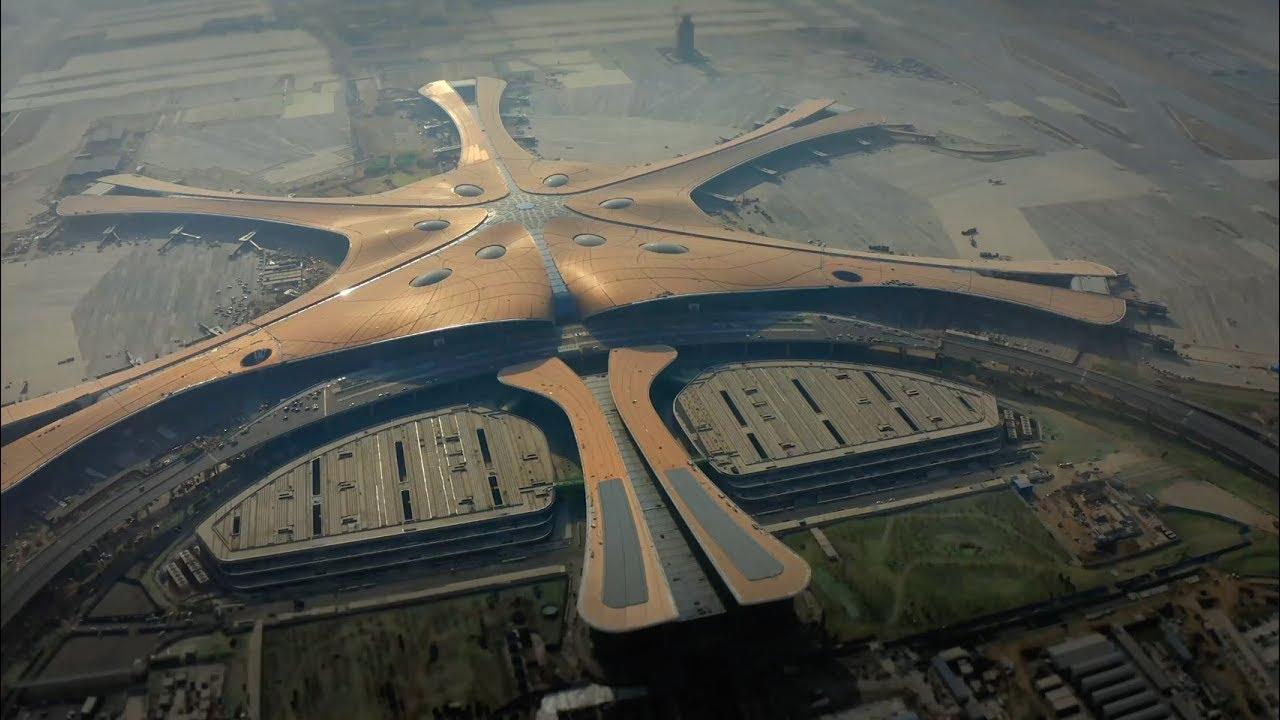 el aeropuerto gigante de zaha ha - El Aeropuerto gigante de Zaha Hadid Architects en Beijing
