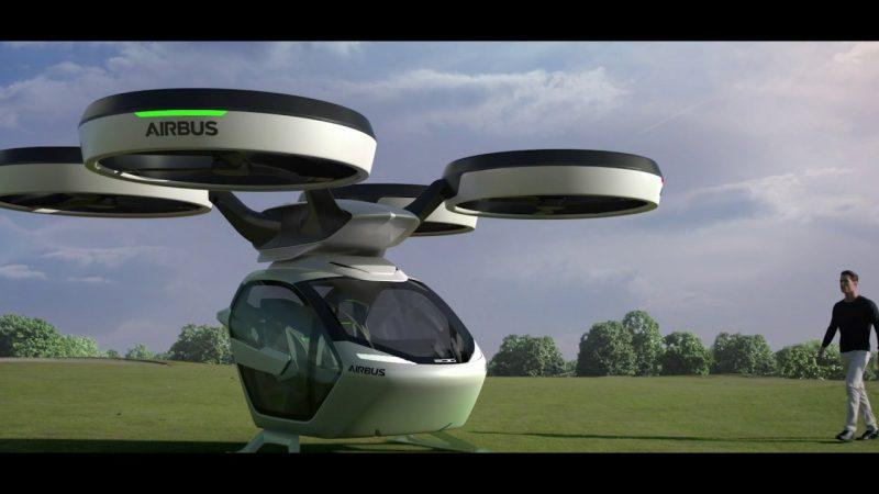 el coche dron de airbus evitara - El Coche Dron de Airbus evitará los atascos