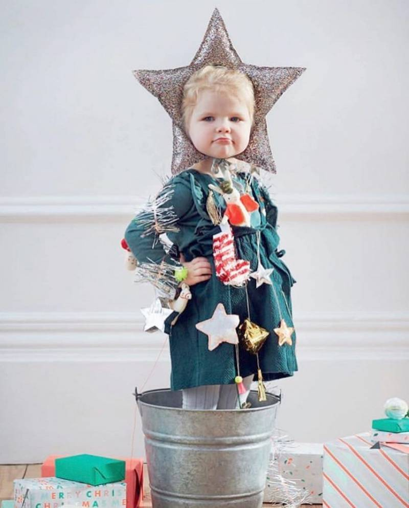 vestuarios de navidad: a los niños les gusta disfrazarse 2