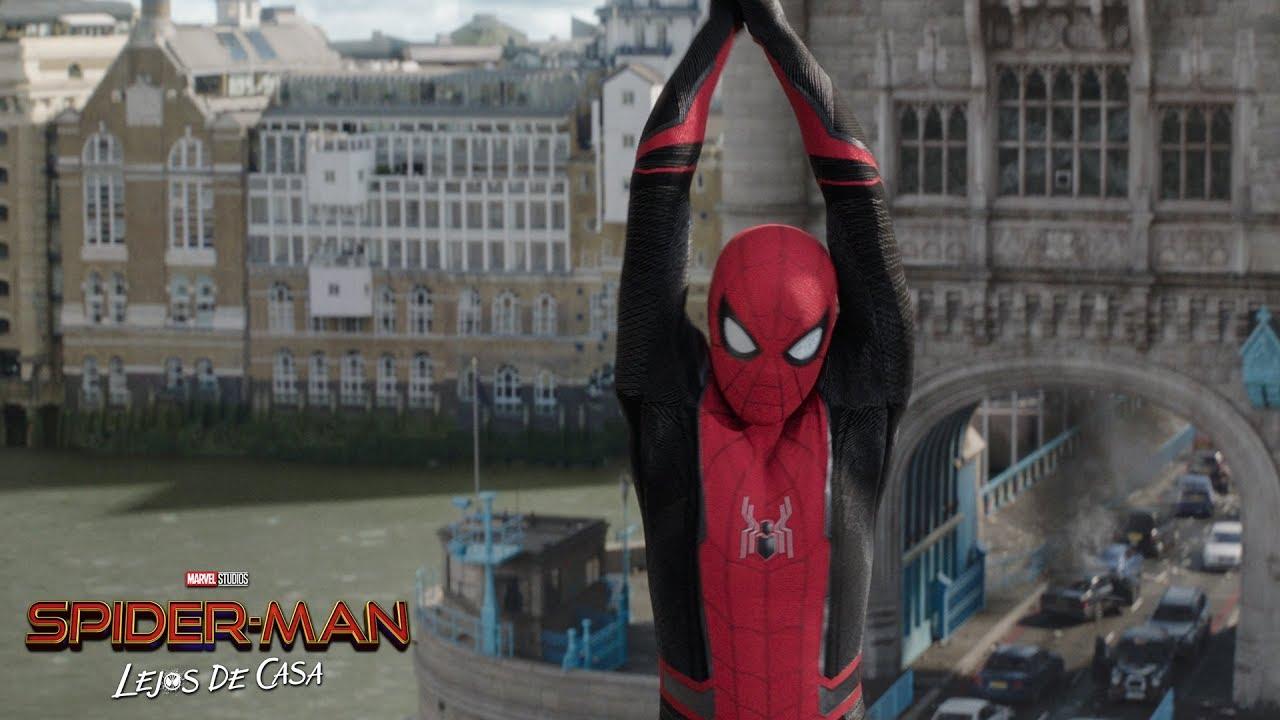 en cines 5 de julio spider man l - En cines 5 de julio: SPIDER-MAN: LEJOS DE CASA. Una nueva aventura.
