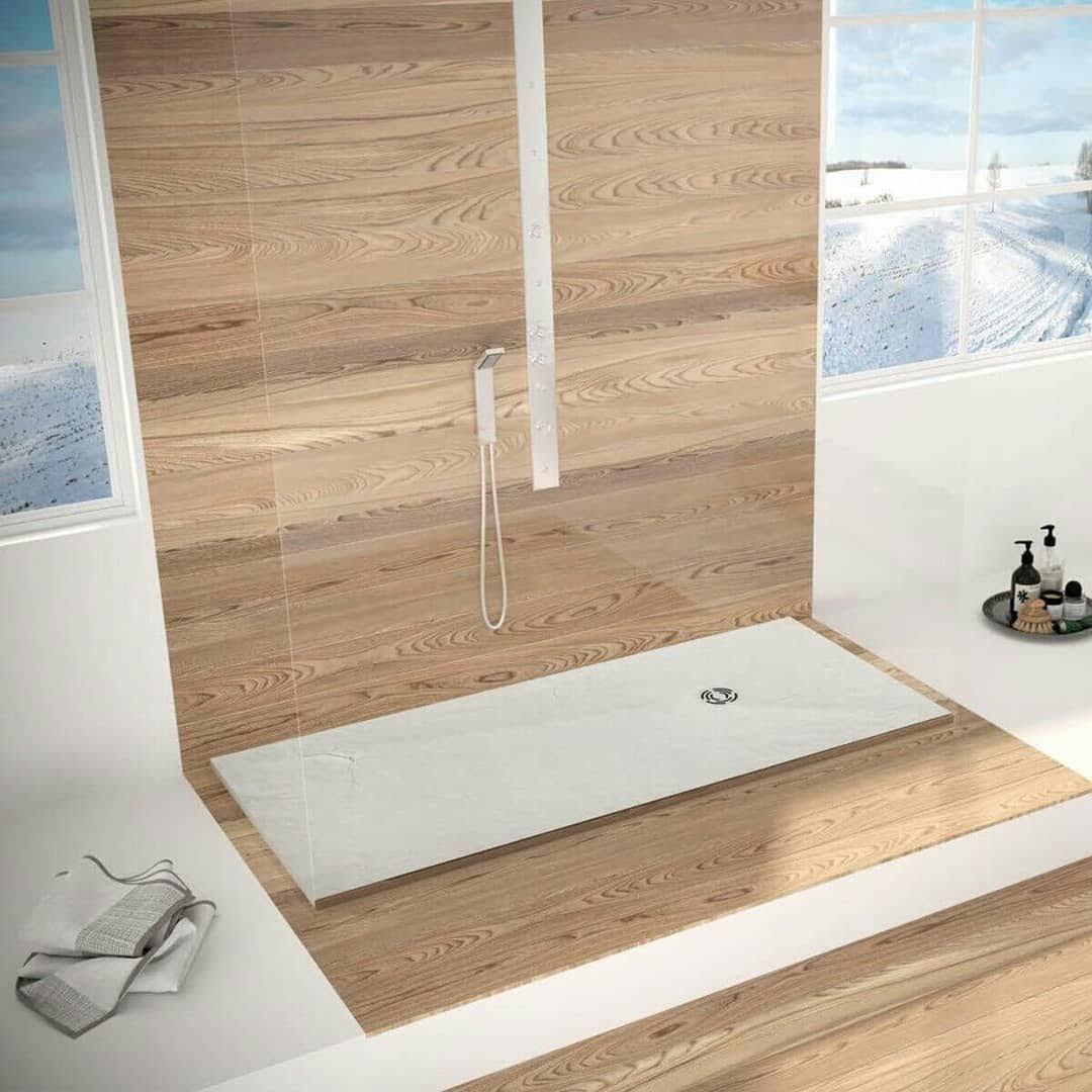 ¿Por qué se doblan los platos de ducha de resina?