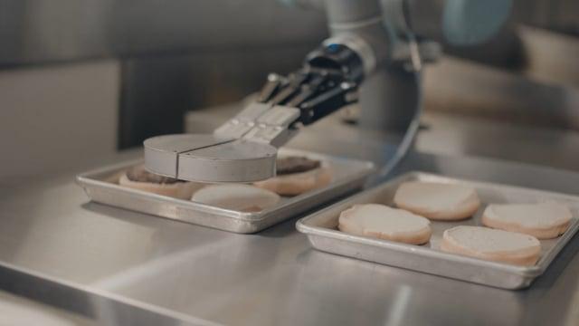 flippy el robot que hace hamburg - Flippy, el robot que hace hamburguesas en California