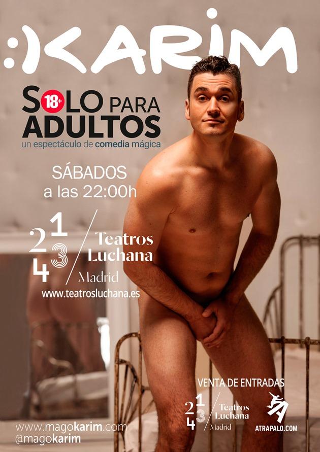 'Sólo para adultos' vuelve a prorrogar en los Teatros Luchana. Hasta el 25 de marzo 3