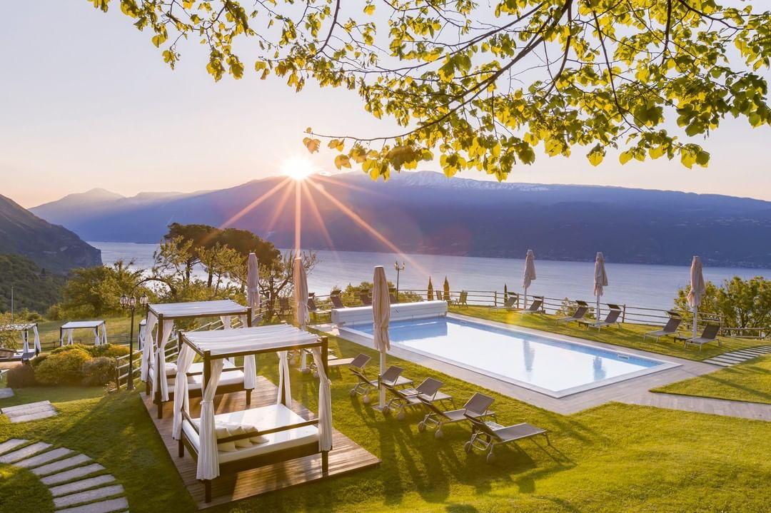 romantik boutique hotel villa sostaga, para Estancias gourmet en Lombardía 3