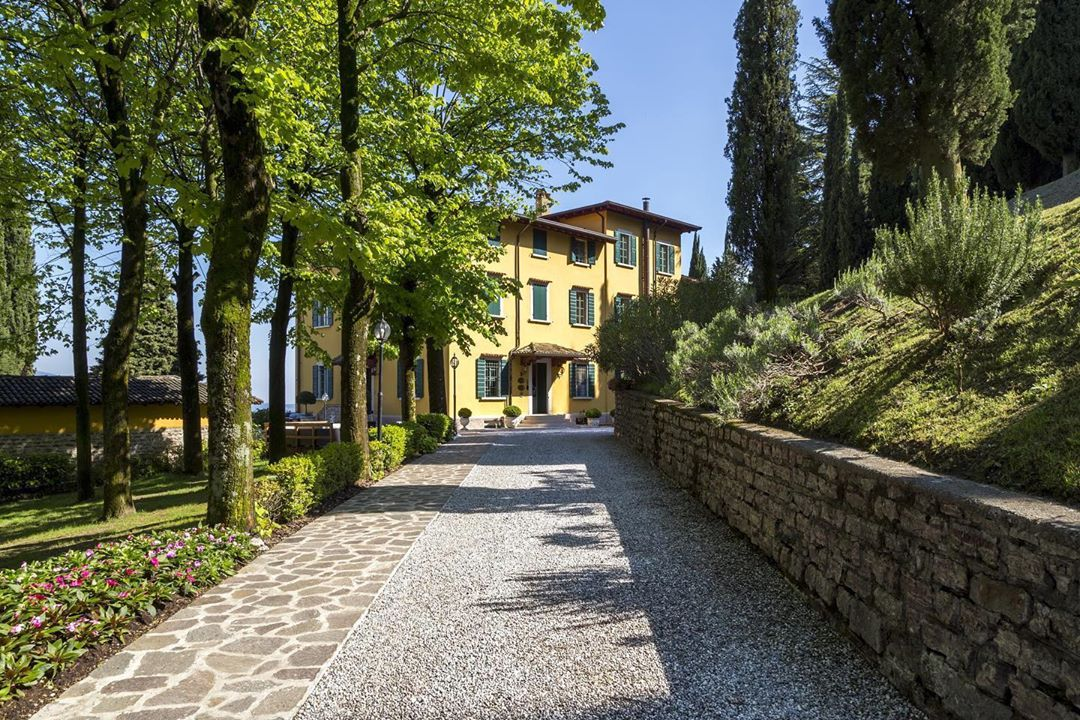 romantik boutique hotel villa sostaga, para Estancias gourmet en Lombardía 4