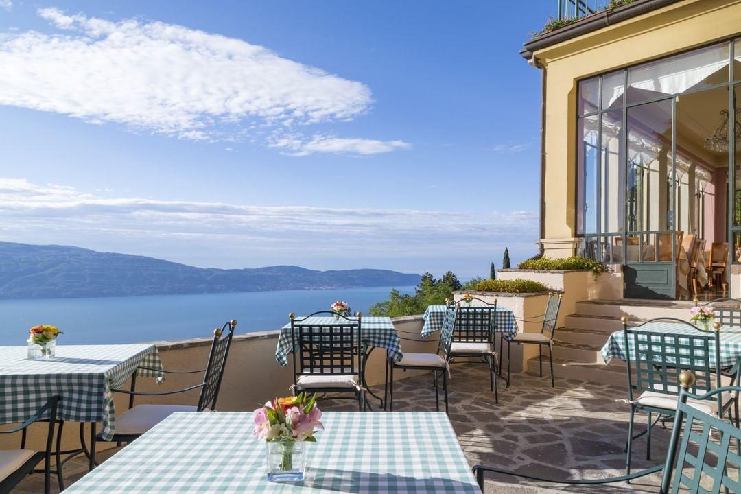 romantik boutique hotel villa sostaga, para Estancias gourmet en Lombardía 2