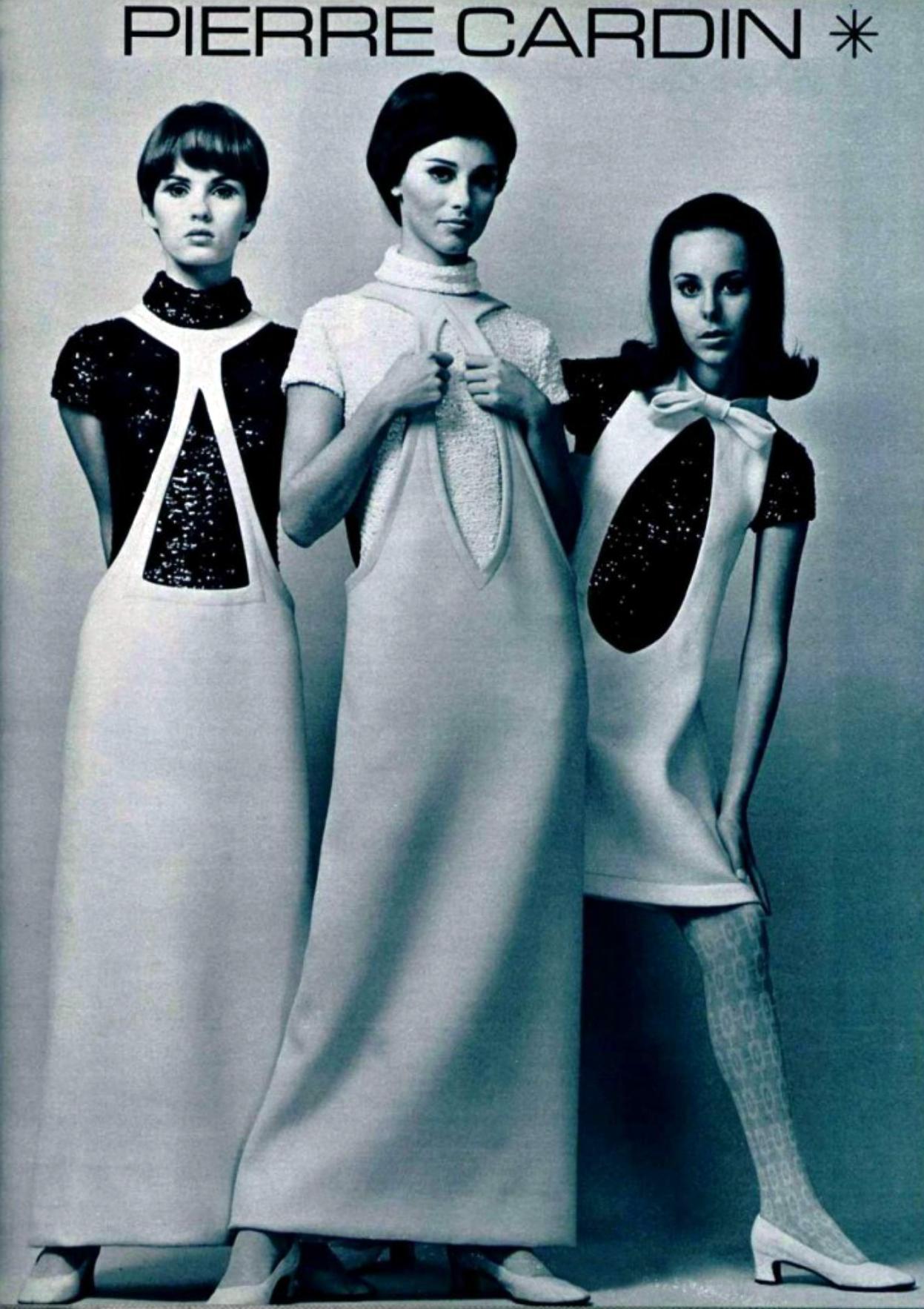 fotos moda futurista años 60:pierre cardin ropa 6
