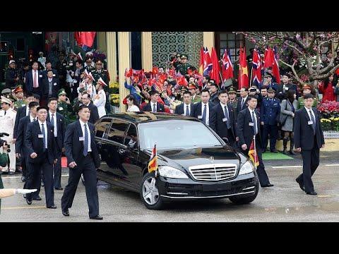 kim jong un llega a hanoi para l - Kim Jong-Un llega a Hanoi para las negociaciones con Trump
