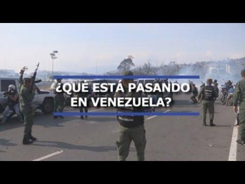 lo que esta pasando en venezuela - ¿Lo qué está pasando en Venezuela?