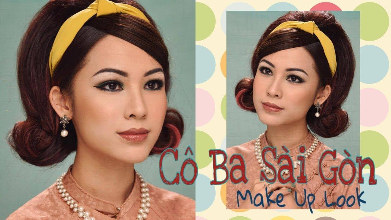 maquillaje vintage de los anos 6 - maquillaje vintage de los años 60 en Saigón