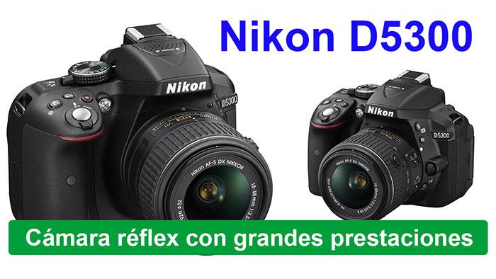 Cámara Reflez digital Nikon d5300 1