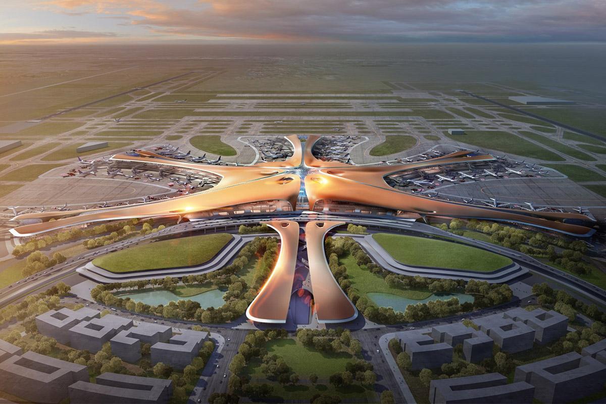 nuevo aeropuerto de beijing - CHINA NOTICIAS INTERNACIONALES - Aeropuertos Futuristas y Conflictos