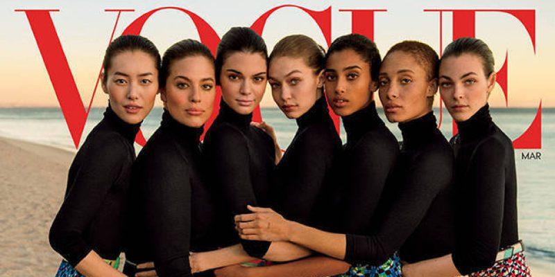 Vogue y Karlie Kloss mosquean a los japoneses con unas fotos 1