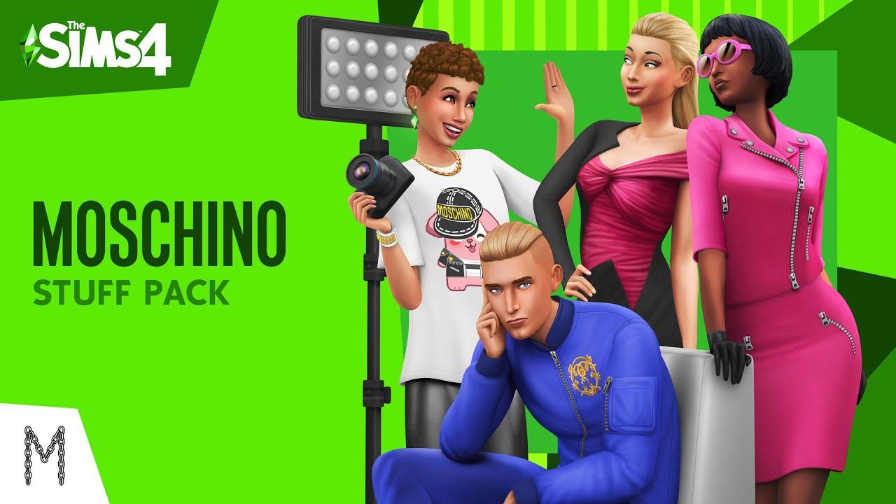 pack moschino en los sims 4 y la - Pack Moschino en Los Sims 4 - Y lánzate con tus Desfiles de moda
