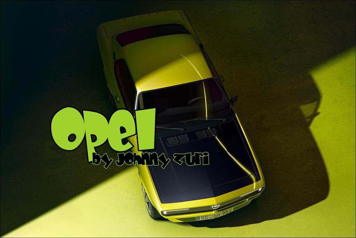 el coche del futuro puede ser este Opel Manta eléctrico y hablador 1
