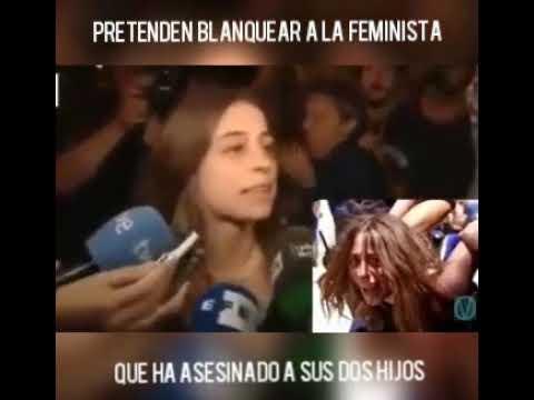 pretenden ocultar la violencia d - PRETENDEN OCULTAR LA VIOLENCIA DE LA FEMINISTA QUE HA ASESINADO A SUS DOS HIJOS