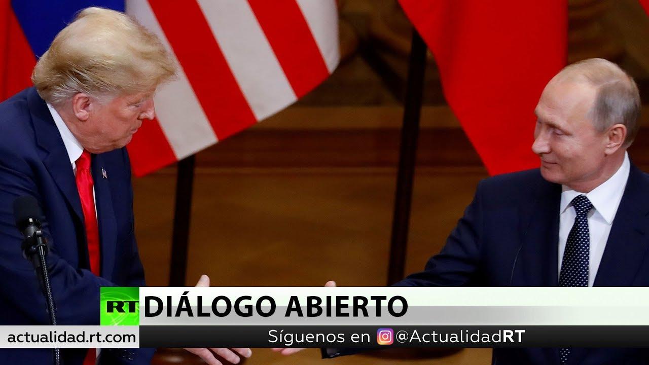 putin y trump hablan por telefon - Putin y Trump hablan por teléfono sobre la situación en Venezuela y Corea del Norte