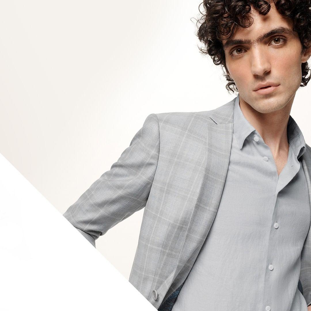 Tangram - la moda masculina atemporal y ligera de Ricardo Almeida 1