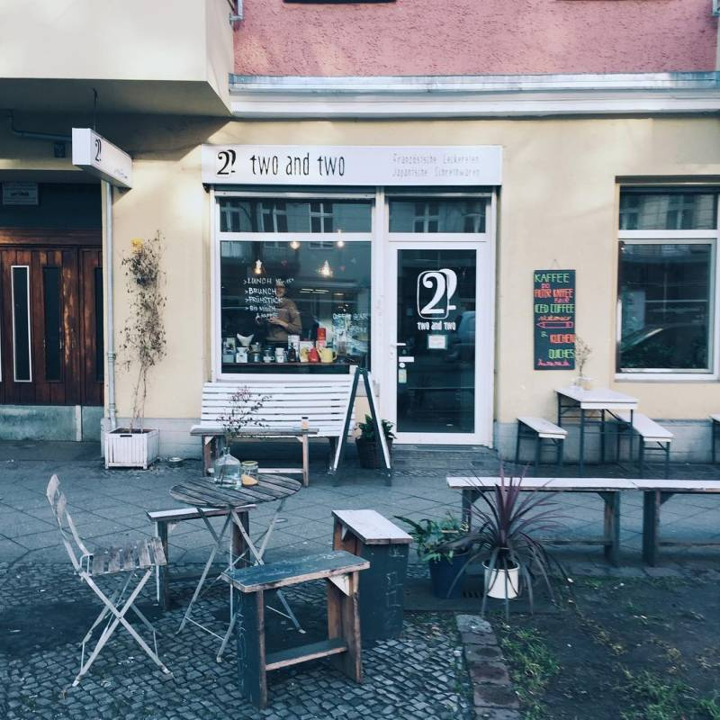 Two and Two Berlín - Café y repostería francesa... 9
