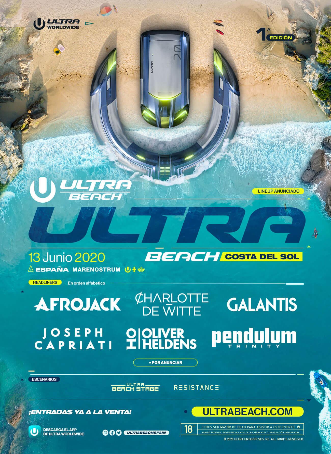 Ultra Music Festival veinte y veintiuno de marzo - LO + MUSICA 1
