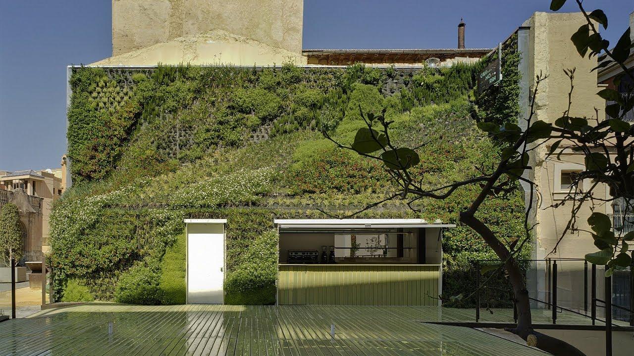 un jardin vertical en la calahor - EL FUTURO DEL ALMACENAMIENTO EN EL MERCADO EMPRESARIAL