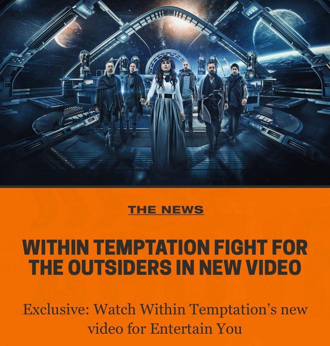 uN Vídeo antes del nuevo disco de within temptation 4