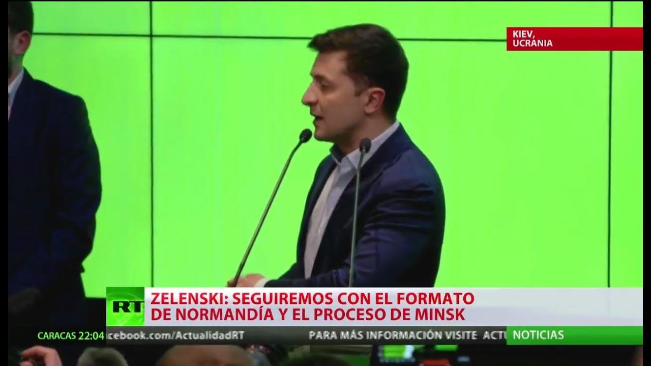 zelenski gana en ucrania con un - Zelenski gana EN Ucrania con un 73,20 % de los votos